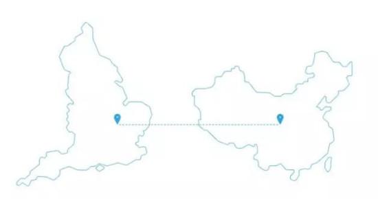 英国地图简笔画步骤