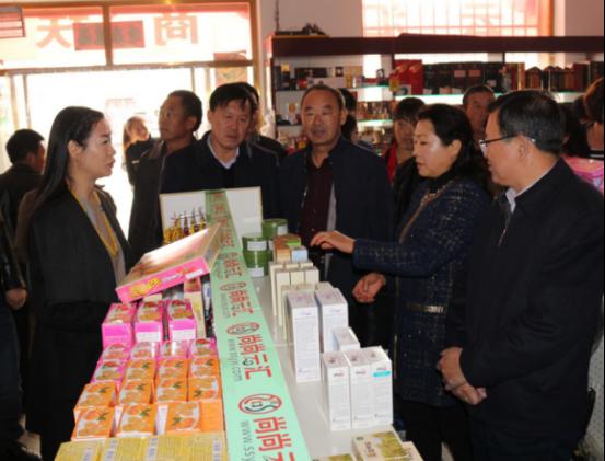 农村电子商务新模式落户清水河--尚尚云汇电商扶贫项目正式启动