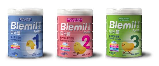 Blemil(布莱米尔)奶粉正式翻译为贝乐曼奶粉