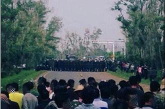 海口三江镇发生群体事件