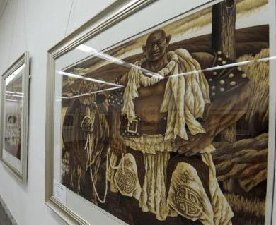 内蒙古美术馆开展