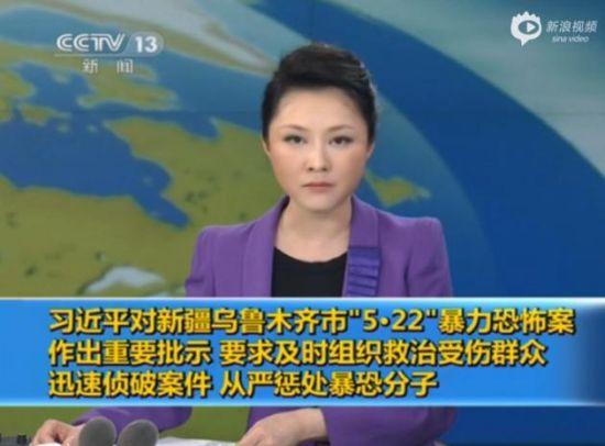 习近平对新疆5.22暴力恐怖案做重要批示