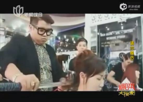 越南犀利理发师用武士刀为顾客