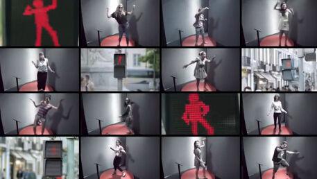 会跳舞的红灯