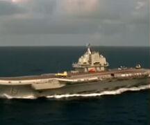 媒体曝中国第2艘航母施工建造 军方未回应